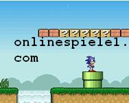 Sonic Lost in Mario World gratis spiele